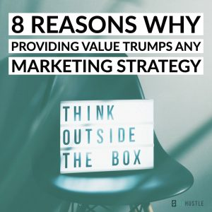 Value over marketing